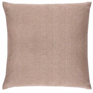 """SET OF 4  SOFT TOUCH TEXTURED BEIGE LATTE WASHABLE 18/"""" CUSHION COVER £10.99 SET"""